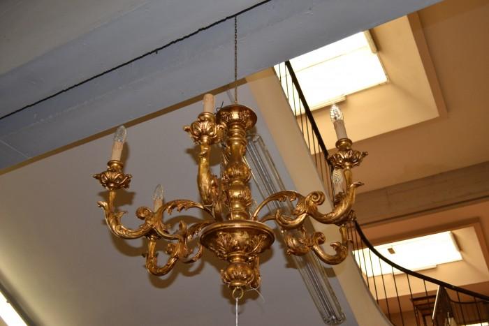 Lampadario Antico In Legno : Lampadari livio bernardi mobili mobili d arte artigianali in legno