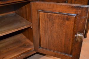 Cassapanca a sciabola 2 porte e cassetto ART TV 11