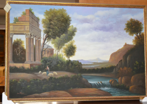 Quadro dipinto olio su tela ART QUA 27