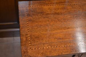 Cassapanca 4 ante a sciabola in legno di noce massello ART CAS 38