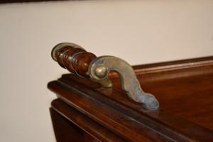 Carrello porta vivande con vassoio, cassetto e alette pieghevoli ART CAR 04