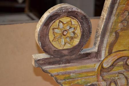 Cassa laccata legno antico ART CAS 09