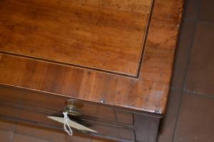 Cassapanca porta tv lastronata con  ribalta ART TV 18
