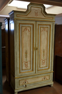 Antique wardrobe with two doors