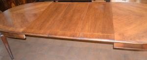 Tavolo ovale allungabile spinato TAV OV 06