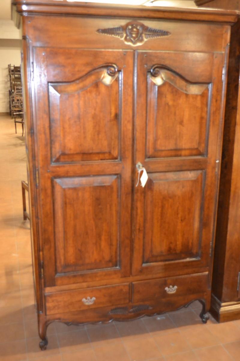 Armadio a 2 porte e 2 cassetti in stile provenzale livio - Mobili stile provenzale ...