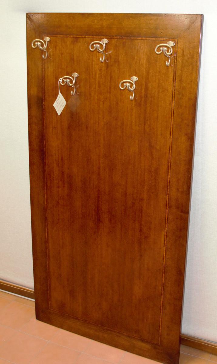 Attaccapanni pannello legno ganci ottone ART APP 10