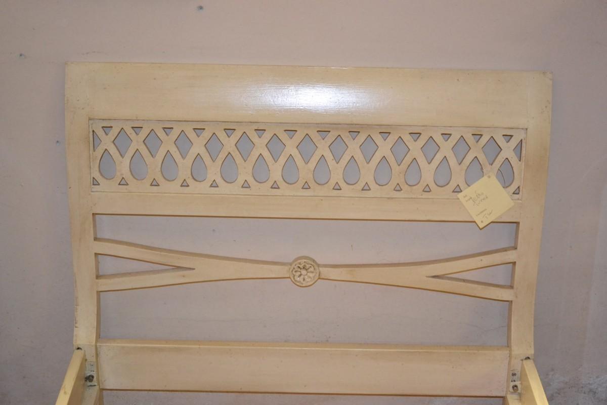 Letto singolo in legno di acero massello livio bernardi - Letto singolo in legno massello ...