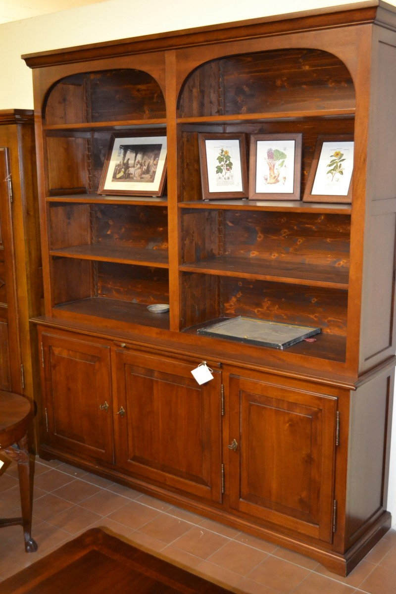 Libreria a 2 archi con 3 porte livio bernardi mobili - Porte per archi ...