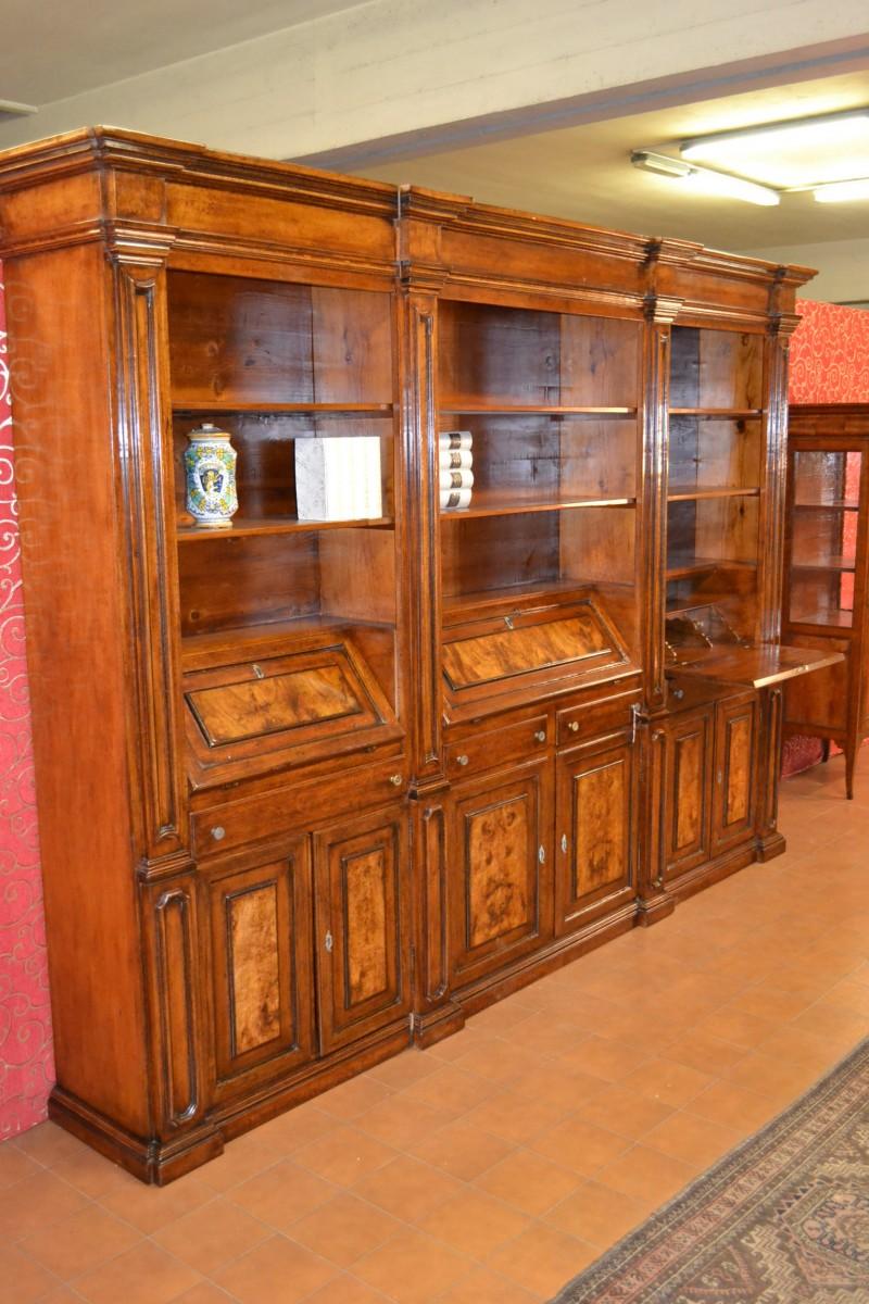 Libreria a 3 ribalte livio bernardi mobili mobili d - Mobili d arte ...
