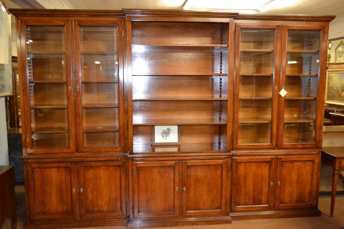 Libreria a 6 porte livio bernardi mobili mobili d 39 arte - Mobili d arte ...