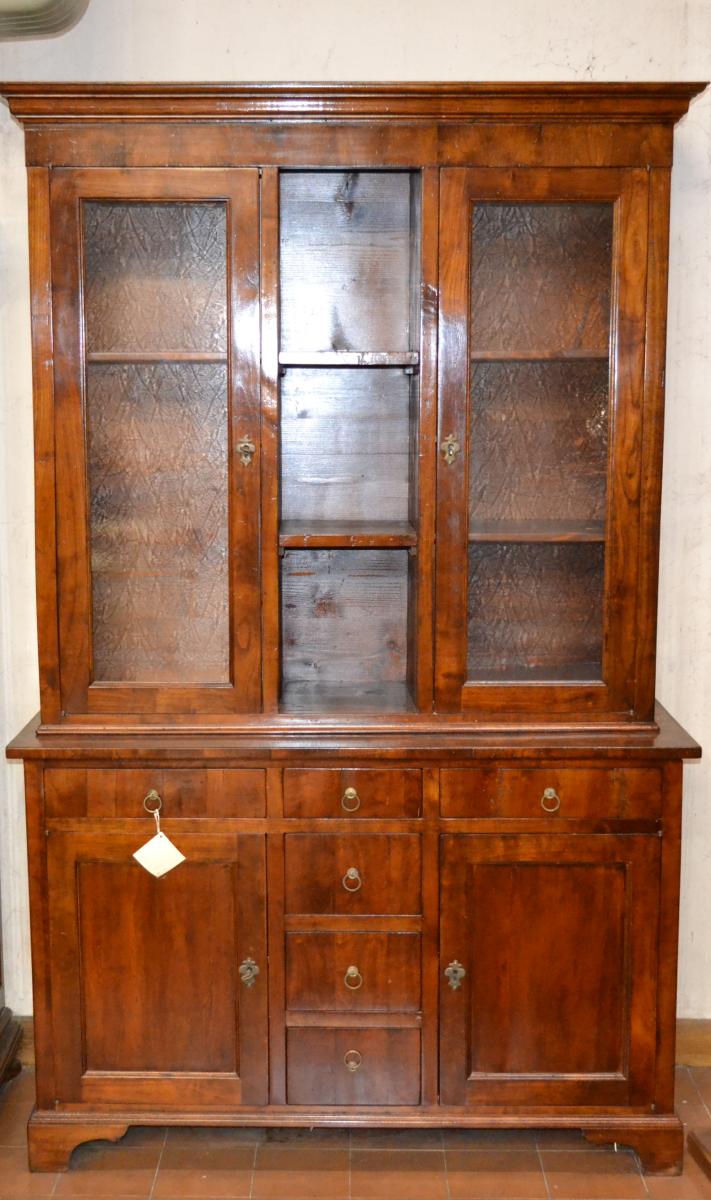 Libreria in legno antico ART LIB 27