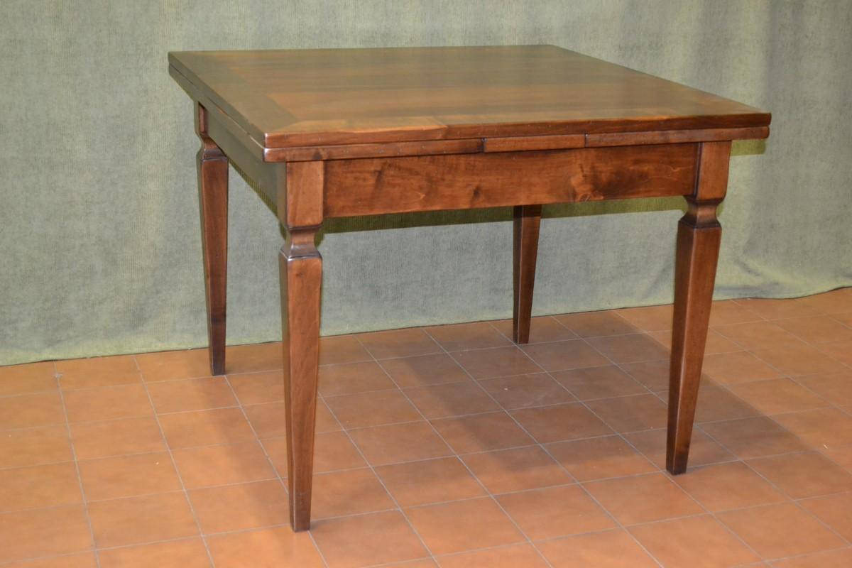 Tavolo allungabile con gambe stile luigi xvi livio bernardi mobili mobili d 39 arte artigianali - Mobili luigi xvi prezzi ...
