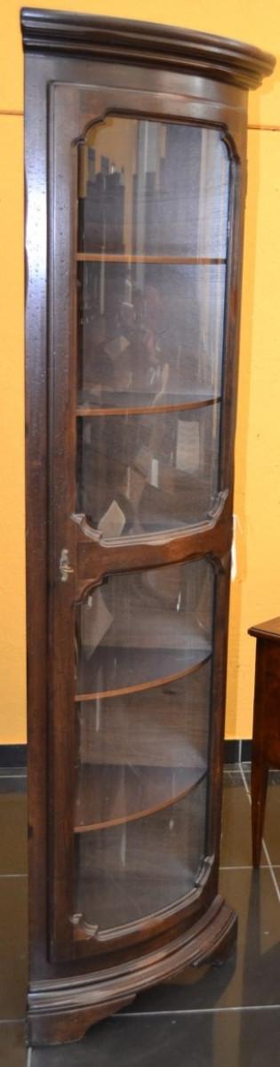 Vetrina ad angolo con vetro curvo ANG 27