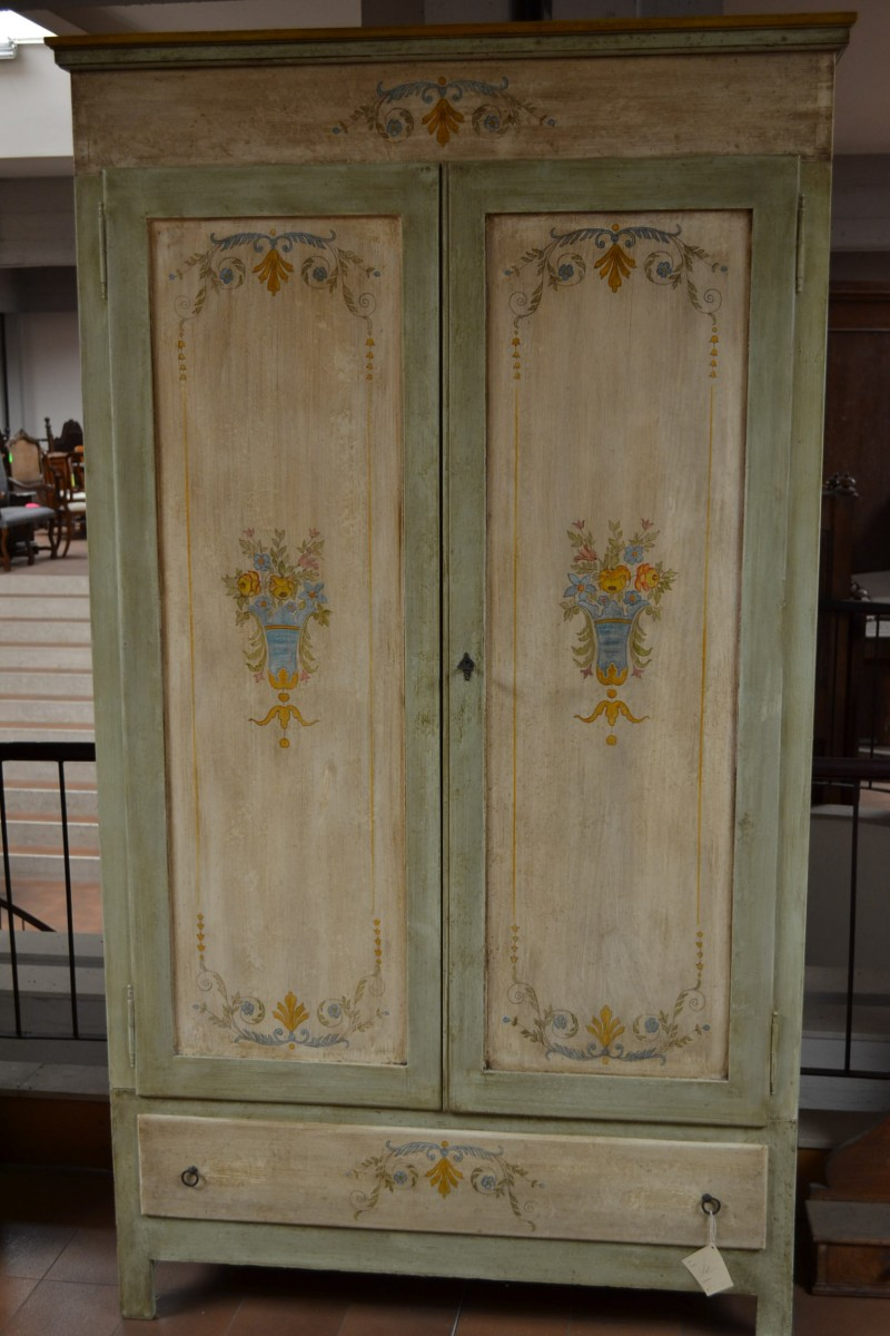 Wardrobe hand-renovated and varnished