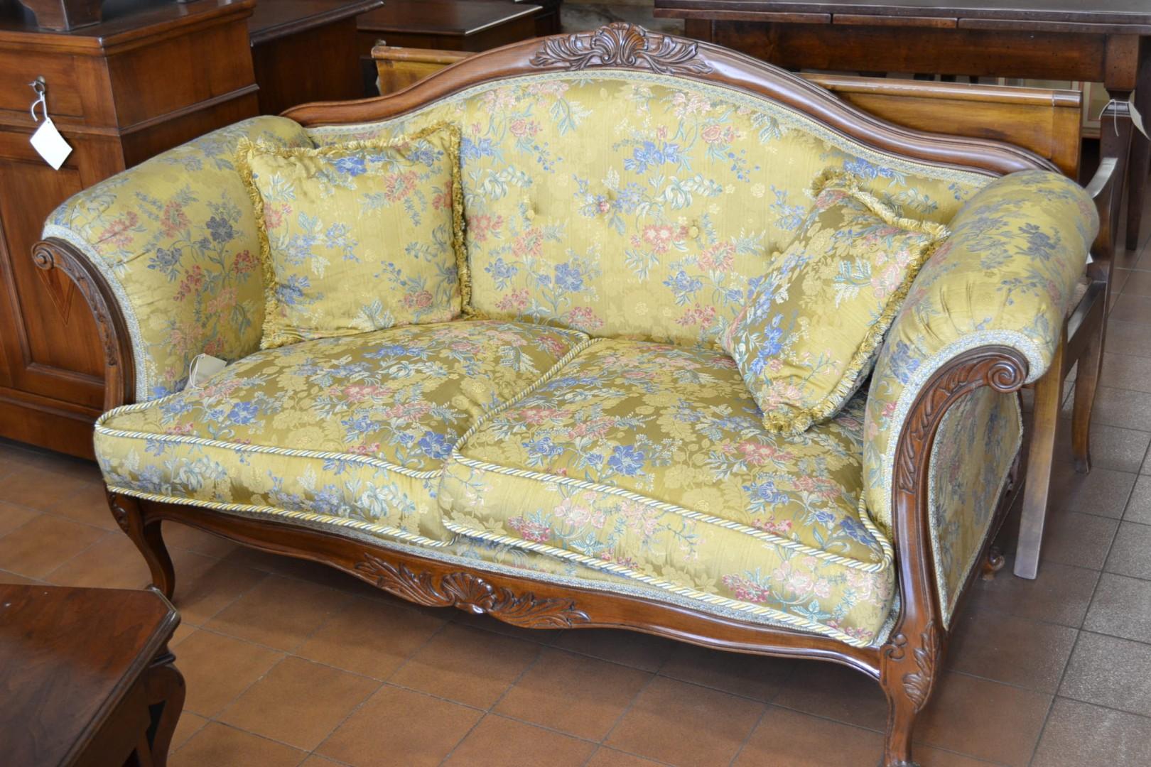 Divano stile inglese livio bernardi mobili mobili d 39 arte artigianali in legno - Divano in inglese ...