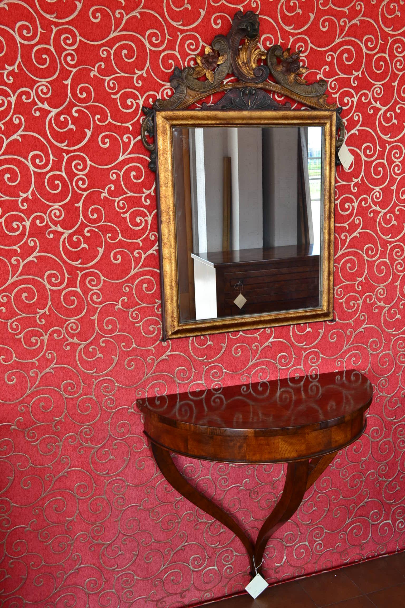 Consolle da parete tonda con 22 livio bernardi mobili for Consolle da muro