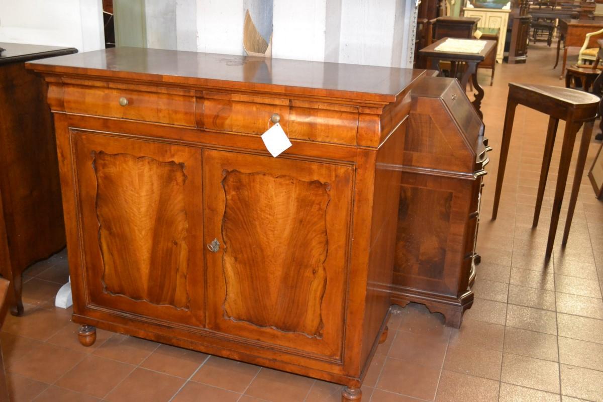 Credenza modello biedermeier livio bernardi mobili mobili d 39 arte artigianali in legno - Mobili biedermeier ...