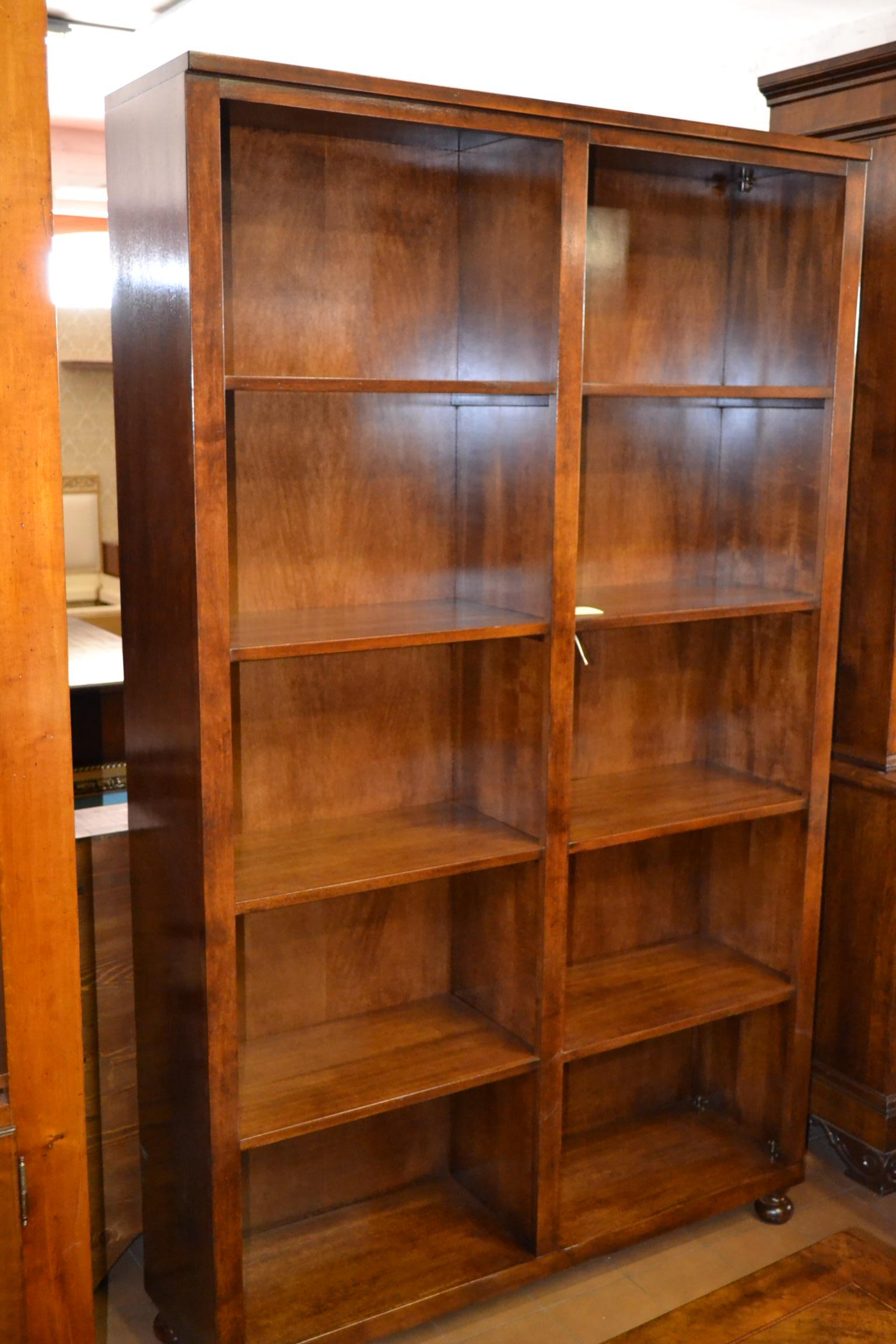 Scaffale acero livio bernardi mobili mobili d 39 arte for Scaffale legno componibile